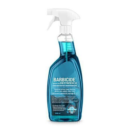BARBICIDE Spray do dezynfekcji powierzchni 1000ml zapachowy