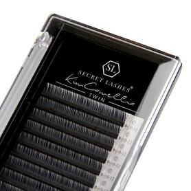 Rzęsy Kim Camellia TWIN skręt C 0,07mmx6-8mm - pojedyncze rozmiary SECRET LASHES