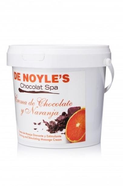 DE NOYLE'S CREMA DE CHOCOLATE Y NARANJA KREM CZEKOLADOWO-POMARAŃCZOWY DO MASAŻU 1000ml