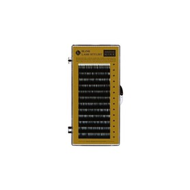 Rzęsy Mink Czarne skręt J 0,10mmx0,13mm - 12 pasków SECRET LASHES