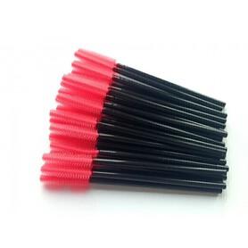 Szczoteczki silikonowe różowe(10szt) SECRET LASHES