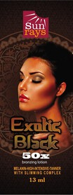 SUNRAYS EXOTIC BLACK 50X BRONZER SASZETKA 13ml