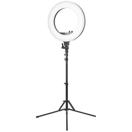 LAMPA PIERŚCIENIOWA RING LIGHT 18 48W LED + STATYW