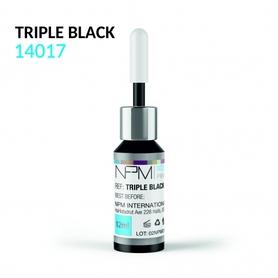 PIGMENT NPM – TRIPLE BLACK 14017 DO MAKIJAŻU PERMANENTNEGO EYELINER NA POWIEKACH 12ml