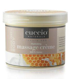 CUCCIO Krem do masażu miód i mleko 750g
