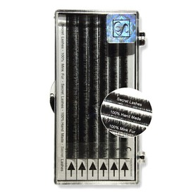 Natural Mink Lashes skręt C 8-10mm -rzęsy z włosia norki SECRET LASHES