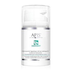 APIS Dermasoft Intensywnie łagodzący żel po zabiegach podrażniających skórę 50ml