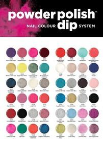 CUCCIO Dip System Powder Polish - kolory