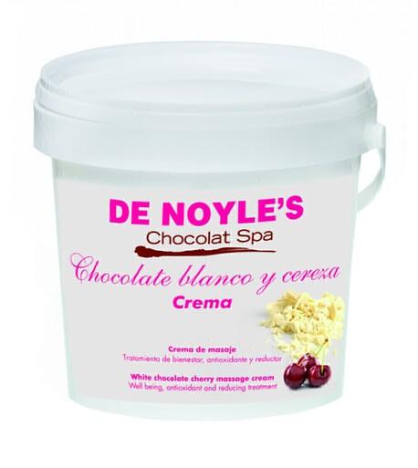De Noyle's White chocolate cherry massage cream kreem czekoladowo-wiśniowy do masażu twarzy i ciała 1000ml