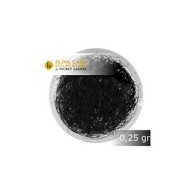 RZĘSY SKRĘT J 0,15mmx13mm SECRET LASHES 0,25g
