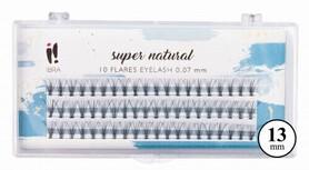 IBRA KĘPKI SZTUCZNYCH RZĘS SUPER NATURAL SKRĘT C 0,07 X 13mm