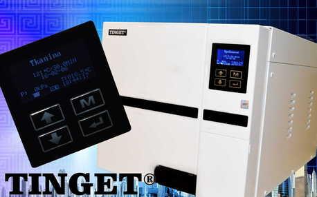 Autoklaw TINGET 18L V generacji z USB i z drukarką