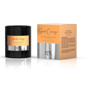 APIS NATURALNA ŚWIECA SOJOWA SPICED ORANGE 220g