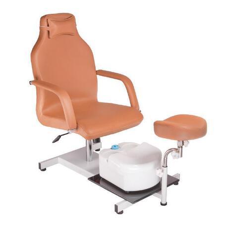 Fotel do pedicure z masażerem stóp BD-5711 beżowy