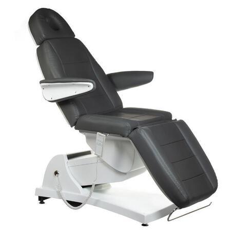 Elektryczny fotel kosmetyczny Bologna BG-228 szary