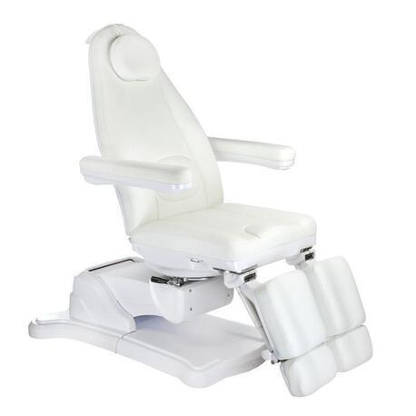 Elektryczny fotel kosmetyczny Mazaro BR-6672A Biały