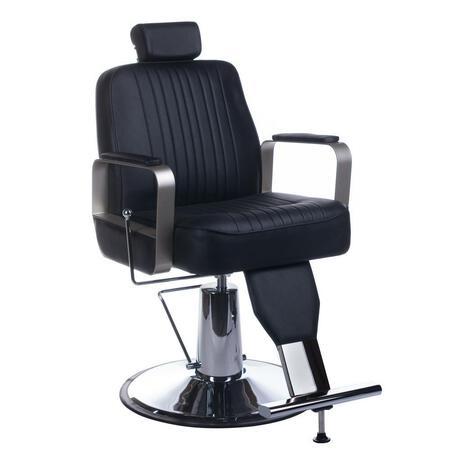 Fotel barberski HOMER BH-31237 Czarny
