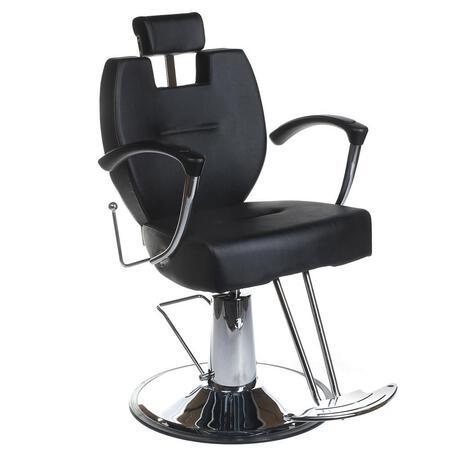 Fotel barberski HEKTOR BH-3208 Czarny