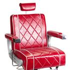 Fotel barberski ODYS BH-31825M Czerwony