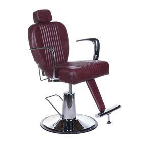 Fotel barberski OLAF BH-3273 Wiśniowy
