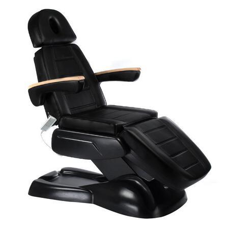 Fotel kosmetyczny elektryczny LUX BW-273B Czarny