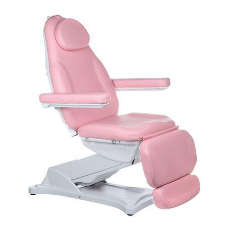 Elektr fotel kosmetyczny MODENA BD-8194 Różowy